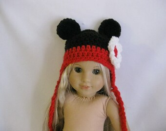 "18"" American girl doll Mickey mouse hat"