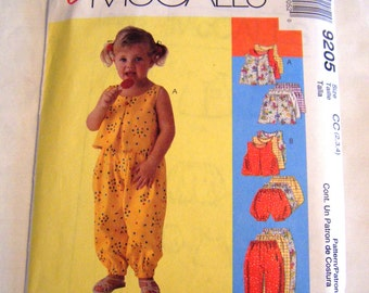McCalls 9205 summer top sewing pattern