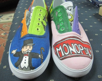 Monopoly Board Games Shoes
