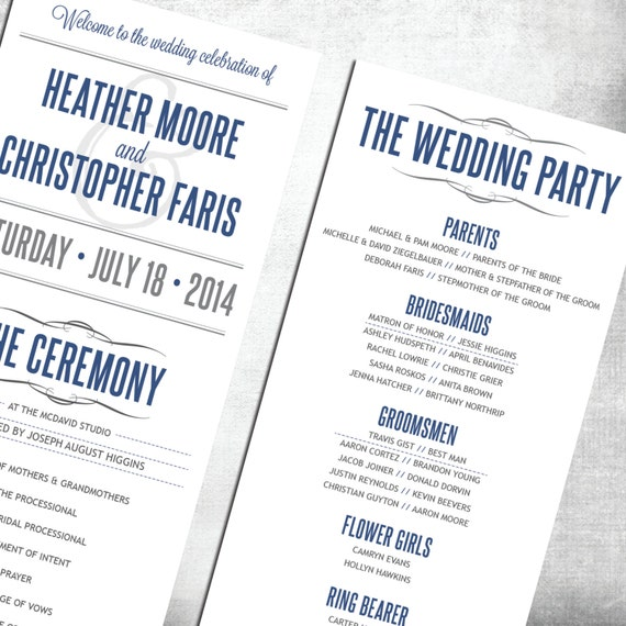 Cheap Wedding Programs: Custom Wedding Programs Cheap Programs By TheDesignBrewery