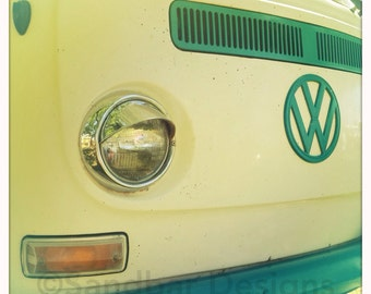 Whitecap VW bus