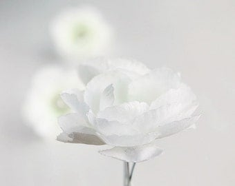 Ivory Flower Hair Pins, Bridal Bobby Pins, Woodland Hair Pins, Bridesmaid Hair Pins, Ivory Flower Pins, Bridal Hair Pins, Wedding Hair Clips