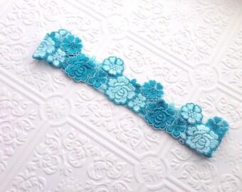 The Blue Boho Beauty Headband