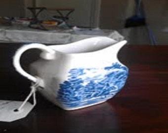 Vintage Kitchen - Liberty Blue Creamer