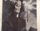 Severus Snape Original Sketch