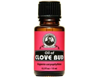 Uncle Harry's Pure Clove Bud Essential Oil, 0.5 Fl Oz