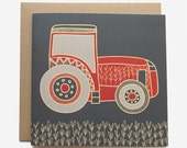 Tractor Birthday Card - Boys/Men's Birthday