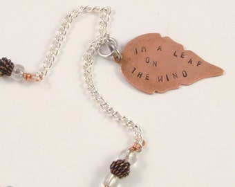 Leaf on the Wind Necklace