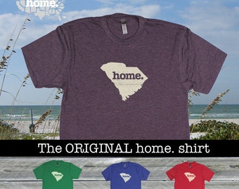 South Carolina Home shirt Men's/Unisex green blue red purple