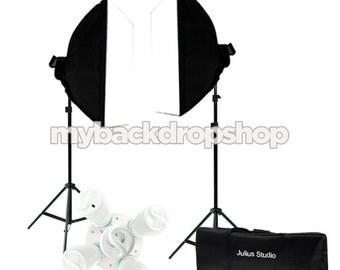 2000w Photo Studio Continuous Lighting Kit - Photography Softbox Light Stand - Photography Studio Equipment