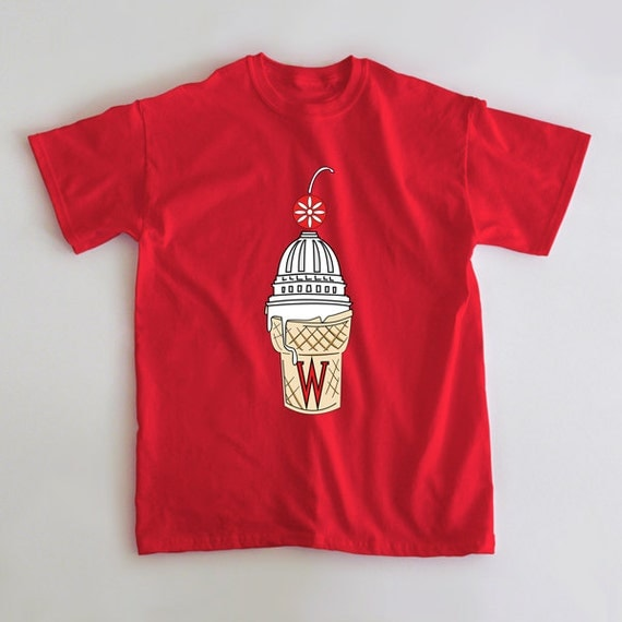 Items similar to wisky cone university of wisconsin for University of wisconsin t shirts
