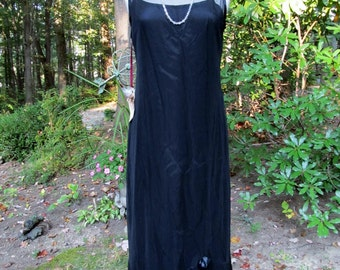 Tea and Scone Black Mesh Dress