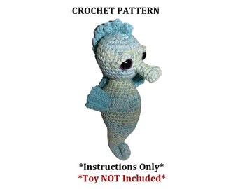 Essie the Seahorse Crochet Pattern