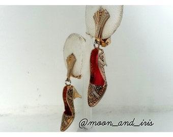 Clip-on Shoe Earrings