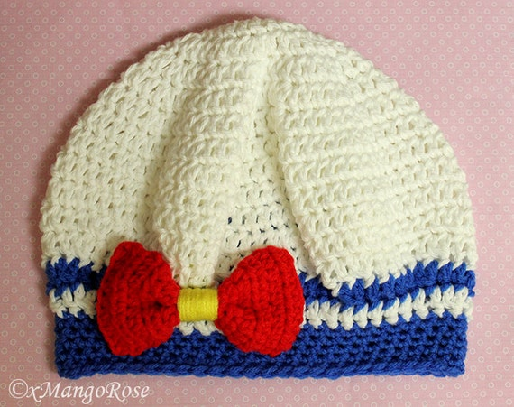 Sailor Moon Hat Crochet Pattern Only Instant Digital