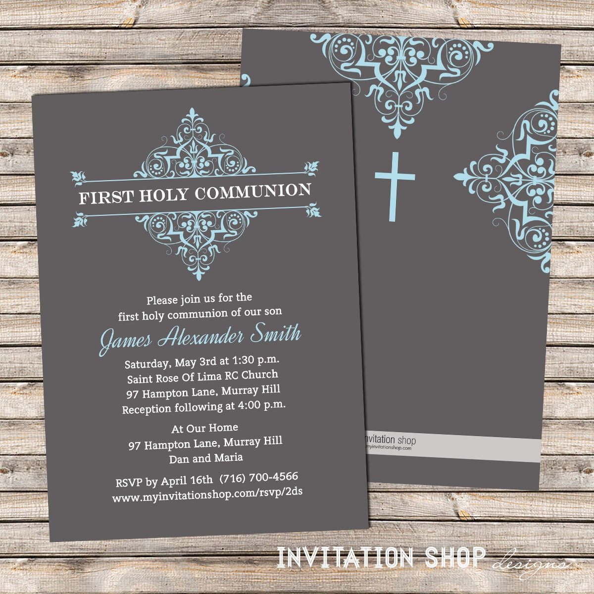 Boys First Communion Invitations as best invitations sample