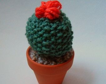 Mini Knit Cactus!