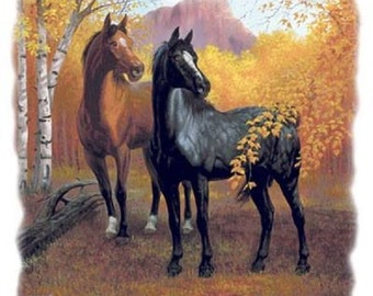 Autumn Horse T-SHIRT  240a