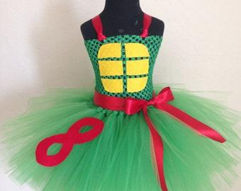 Ninja Turtle tutu dress- Choose your own turtle
