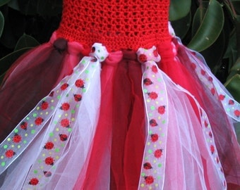 Ladybird Tutu dress pattern INSTANT DOWNLOAD