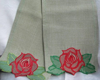 FS-003 Embroidered Scarf