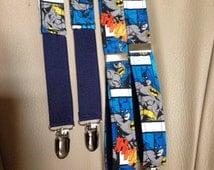 Batman Comic Suspenders-001