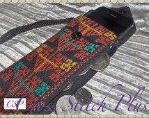 50% OFF - Cross Stitch Iphone Case, Handmade Cross Stitch Cell Phone Case, Hand Stitched iPhone and Money Change Case