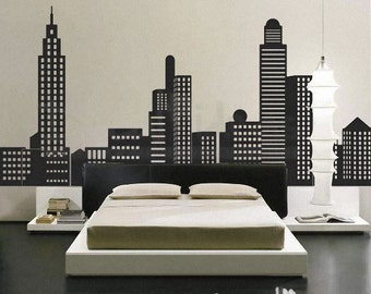 New York City   New York Skyline   City Skyline Decal   City Buildings  Skyline   Part 84