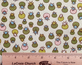 Jay McCarroll fabric Love tomatoes fabric JY02 green sewing/quilting 100% cotton fabric childrens novelty fabric by the yard