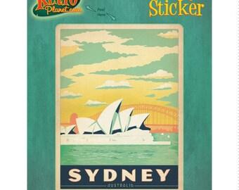 Sydney Australia Opera House Vinyl Sticker - #47926