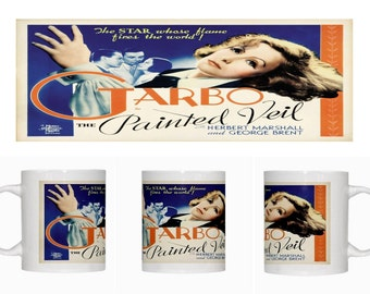 Greta Garbo - The Painted Veil - Mug - New - Free Shipping