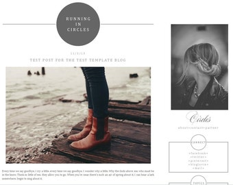 Winter edition premade blog template blogger ah by for Premade columns