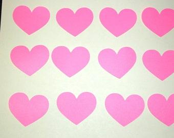 25 Medium Sized Hearts