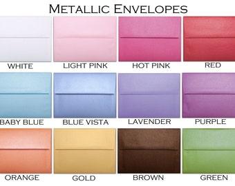 Metallic Envelopes A7