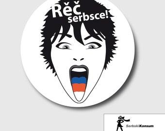 Stickers | Rěč serbsce! SerbskiKonsum