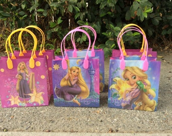 12 Disney Princess Tangled Birthday Party Favor Bags