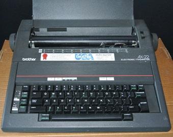 Vintage Brother Electronic Typewriter AX-22