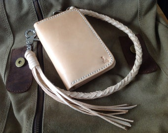 Leather Wallet Indy Duo medium (Nature)