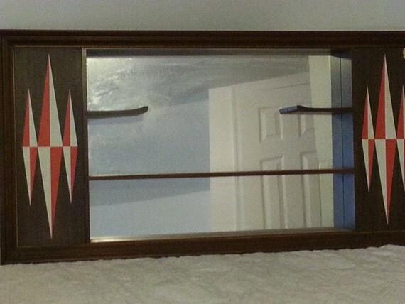 Mid Century Modern Turner Wall Accessory Curio Shelf Shadow