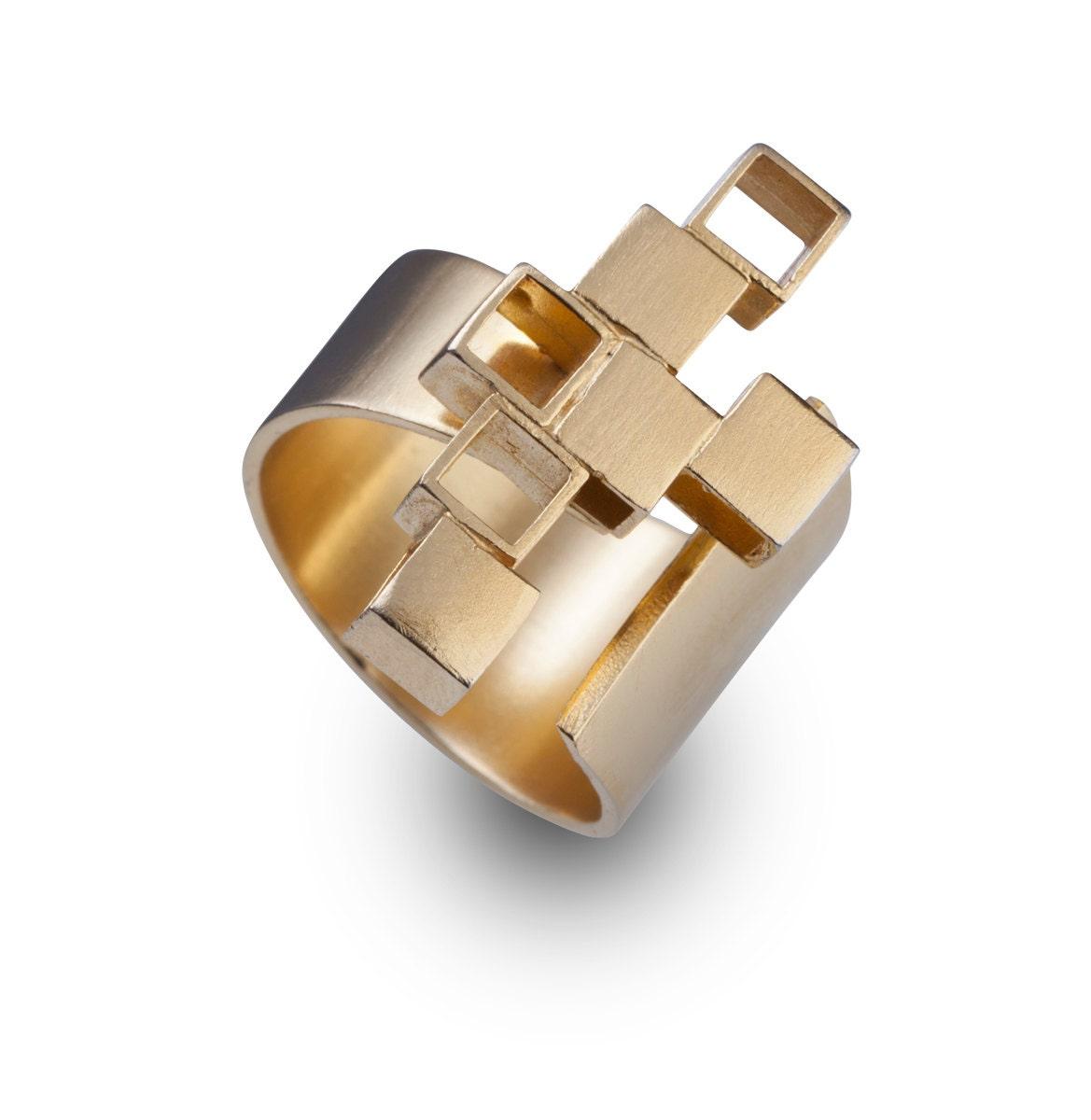Minimalist Jewelry Minimalist Ring 14k Gold Minimalist