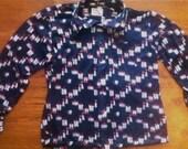 Roadside Diner vintage button up shirt