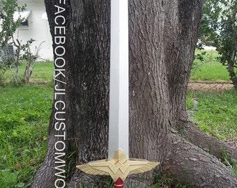 RAW CAST Wonder Woman Sword Prop Ver. 1