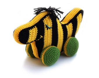 Crochet pattern Tiger duck (Tigerente) - amigurumi - instant download pdf