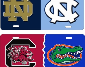 House Divided sports teams House United personalized custom novelty front license plate decorative aluminum plate car tag