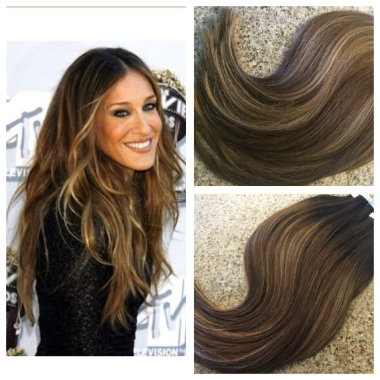 5 star ombre balayage cuticle remy human hair keratin fusion zoom pmusecretfo Choice Image