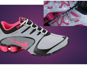 Bling Out Nike Shox Nike Air Max 90 Pink Black Silver  e0c7c5b464