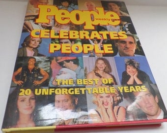 People Celebrates people, The best of 20 years, 1974-1994, Hundreds of great pics,
