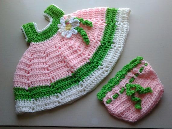 baby ostern kleid h keln baby kleid set mit von shellybellscrochet. Black Bedroom Furniture Sets. Home Design Ideas