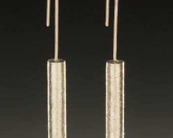 SIngle Cylinder Drop Earrings
