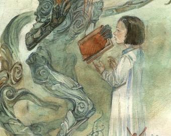 Pan's Labyrinth art print